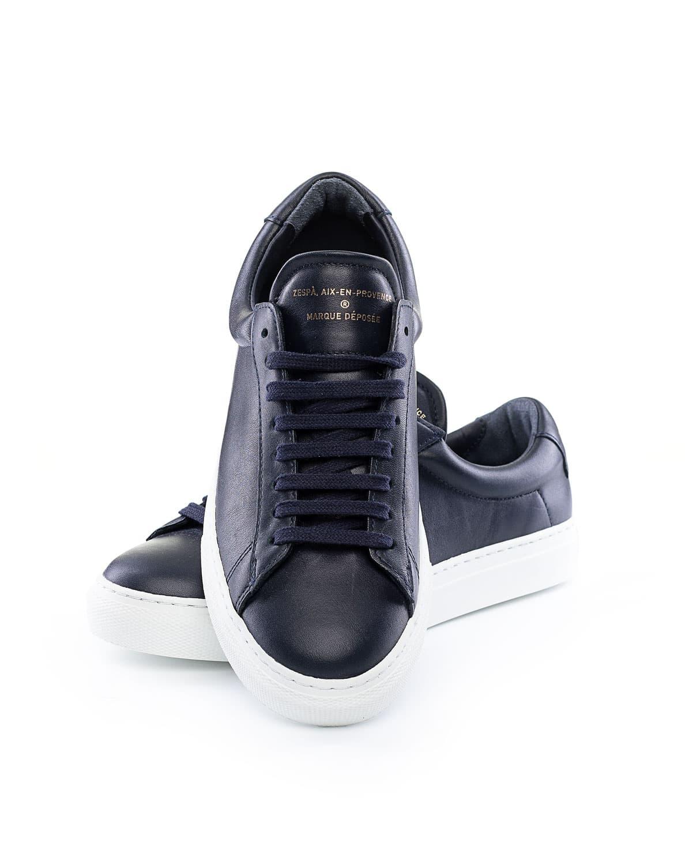 ZESPÀ, AIX EN PROVENCE Sneaker ZSP4 Suede Dunkelblau | STAKKS