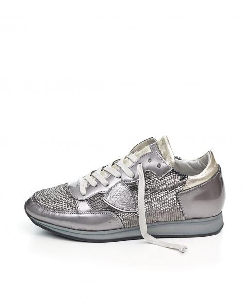 PHILIPPE MODEL Sneaker Tropez Silber   STAKKS 0912f6bbea