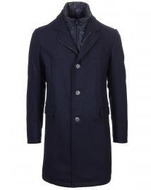 Mantel Wolle/Daunen