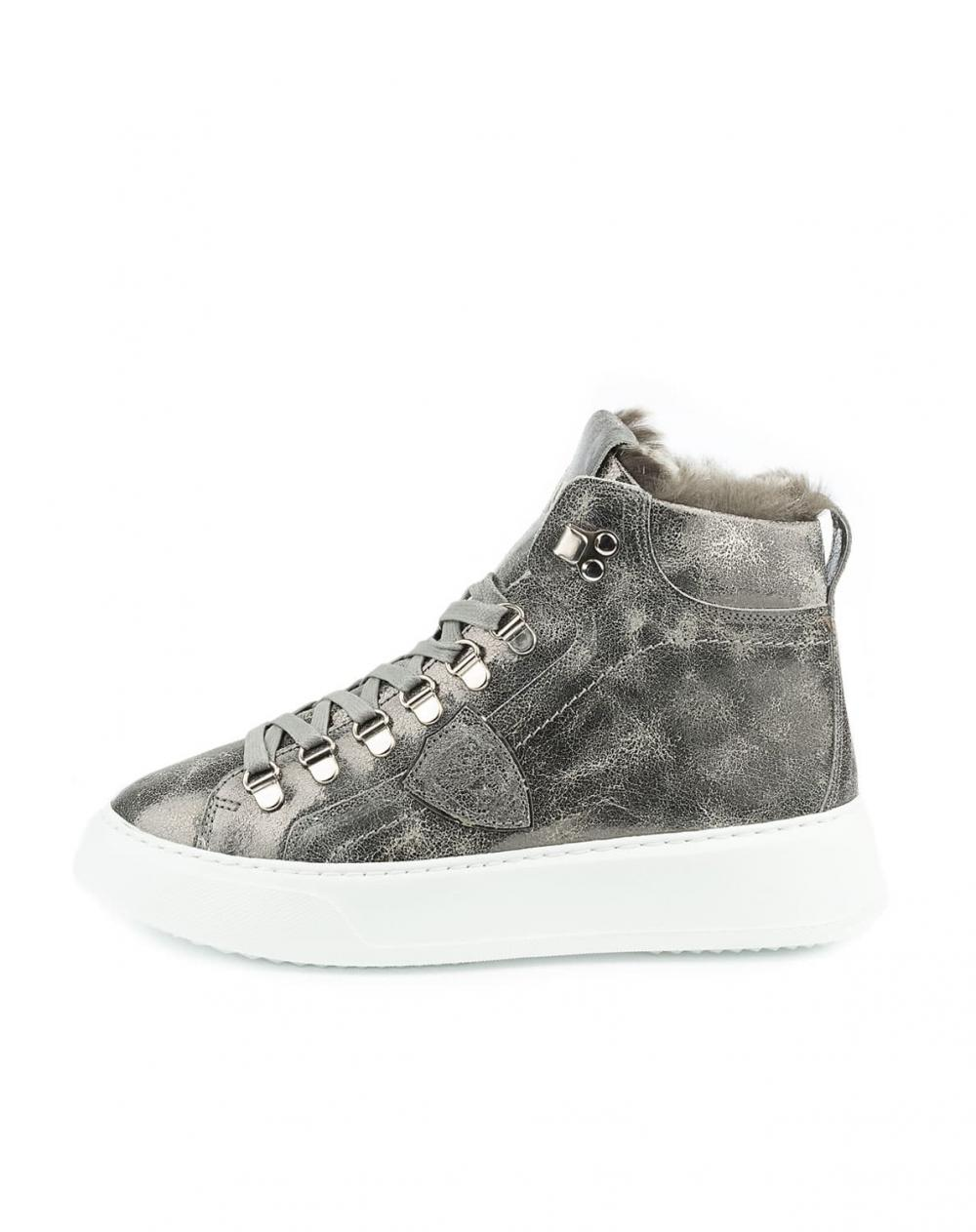 Sneaker Temple High Fur
