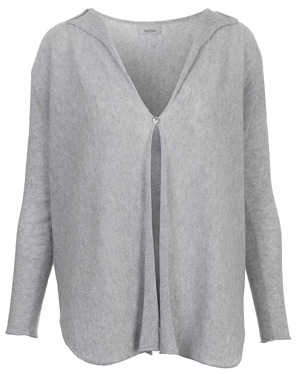 Short Cocoon Cardigan